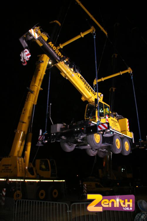 INAUGURATION 140 tonnes